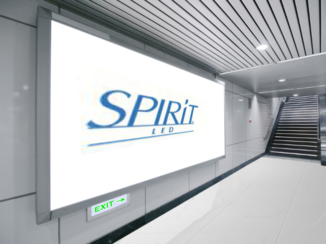 Spirit LED Back Lit Signage